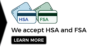 Banner that states We Accept HSA and FSA